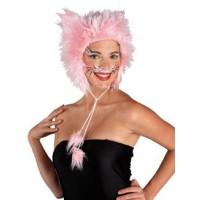 Καπέλο Γάτας ροζ γούνινο 70157  Αποκριάτικα