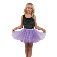 Φούστα tutu με αστεράκια παιδική 4 χρώματα 80597 Αποκριάτικα