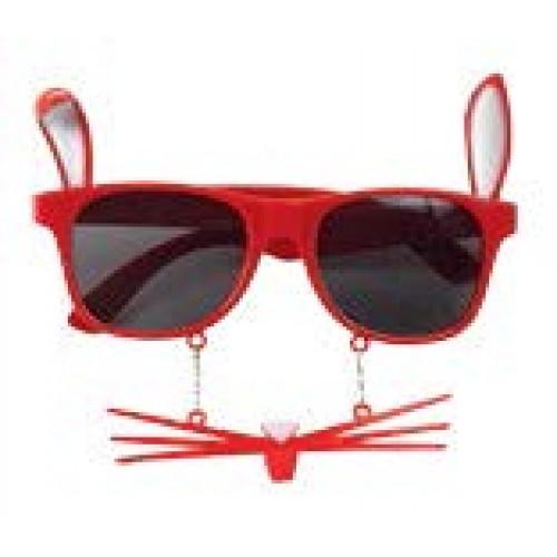 Αποκριάτικα γυαλιά κουνελάκι 80506