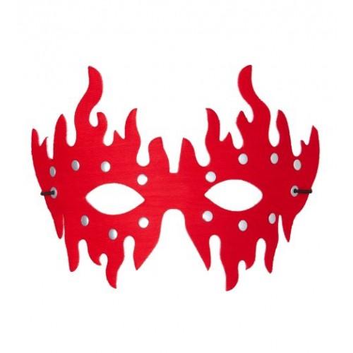 Μάσκα ματιών διαβολίνα-φωτιά 73595