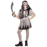 Παιδική στολή φάντασμα Πειρατίνα 08608 Αποκριάτικα