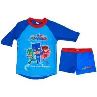 Μαγιό παιδικό Πυτζαμοήρωες PJMasks 95001 Καλοκαιρινά