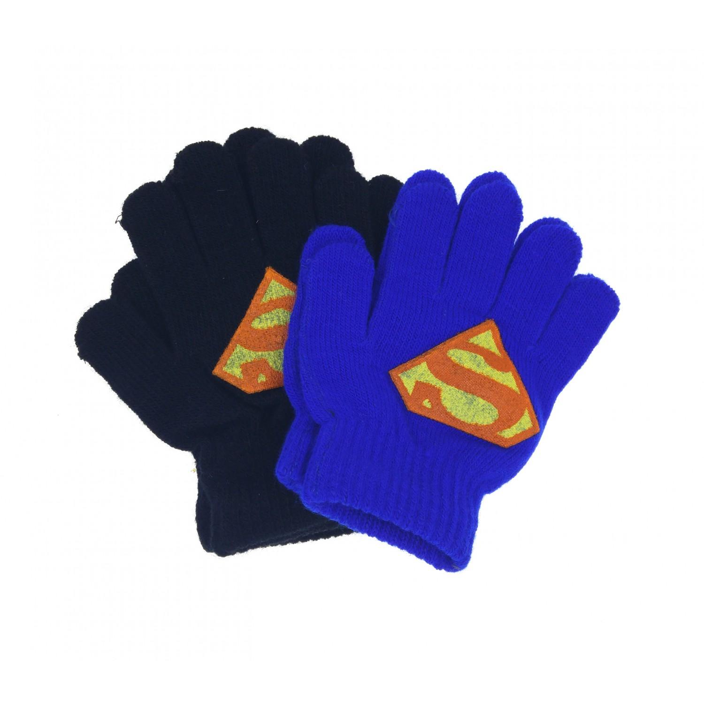d948bbd2836 Γάντια παιδικά πλεκτά Superman 11825 Χειμωνιάτικα
