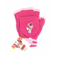 Γάντια παιδικά πλεκτά 2 σε 1 Minnie Mouse 12216 Χειμωνιάτικα